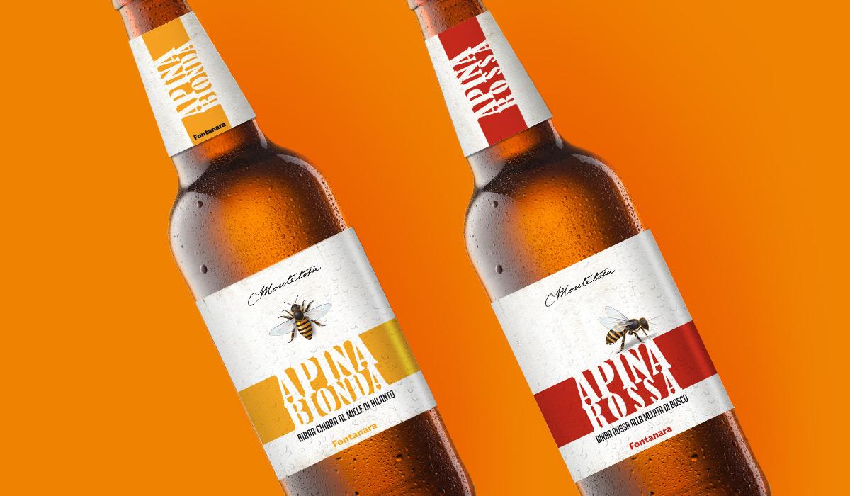 Famoso design etichette birra artigianale KZ55