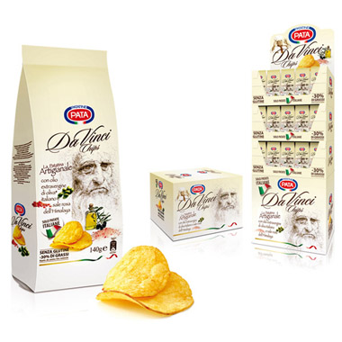 packaging pata davinci